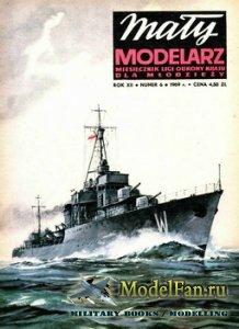 Maly Modelarz №6 (1969) - Polski niszczyciel