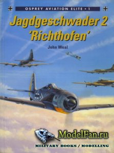 Osprey - Aviation Elite Units 1 - Jagdgeschwader 2. 'Richthofen'