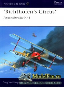Osprey - Aviation Elite Units 16 - 'Richthofen's Circus' Jagdgeschwader  ...