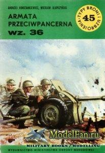 Typy Broni i Uzbrojenia (TBIU) 45 - Armata Przeciwpancerna wz.36