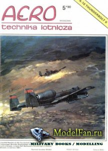 Aero Technika Lotnicza 5/1990 - A-10 Thunderbolt II