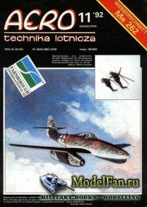 Aero Technika Lotnicza 11/1992 - Messerschmitt Me 262