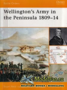 Osprey - Battle Orders 2 - Wellington's Army in the Peninsula 1809-14