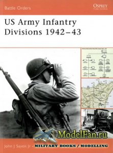 Osprey - Battle Orders 17 - US Army Infantry Divisions 1942-43