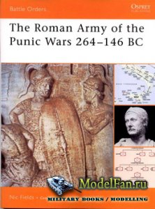 Osprey - Battle Orders 27 - The Roman Army of the Punic Wars 264-146 BC