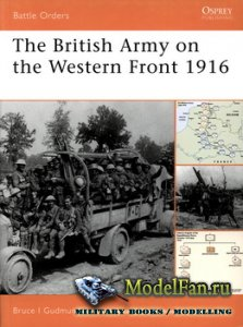 Osprey - Battle Orders 29 - The British Army on the Western Front 1916