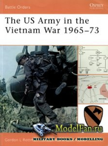 Osprey - Battle Orders 33 - The US Army in the Vietnam War 1965-73