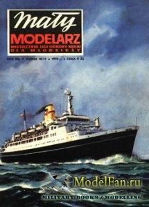 Maly Modelarz №10-11 (1970) - Statek Pasazerski TS/S
