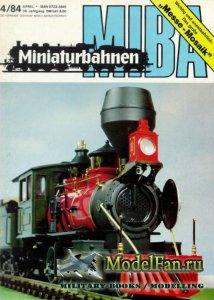 MIBA (Miniaturbahnen) 4/1984