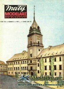 Maly Modelarz №5 (1971) - Zamek Krolewski w Warszawie