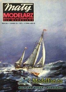 Maly Modelarz №12 (1971) - Jacht Morski S/Y