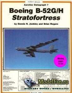Aerofax Datagraph 7 - Boeing B-52G/H Stratofortress