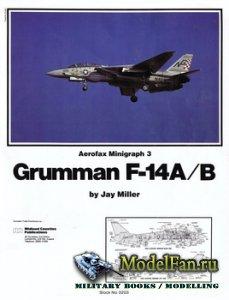 Aerofax Minigraph 3 - Grumman F-14A/B