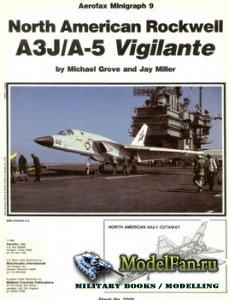 Aerofax Minigraph 9 - North American Rockwell A3J/A-5 Vigilante