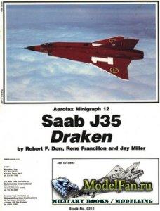 Aerofax Minigraph 12 - Saab J35 Draken