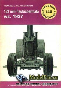 Typy Broni i Uzbrojenia (TBIU) 118 - 152 mm haubicoarmata wz. 1937