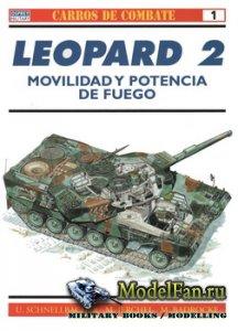 Osprey - Carros de Combate 1 - Leopard 2 Main Battle Tank 1979-1998