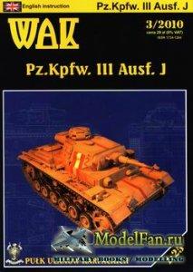 WAK 3/2010 - Pz.Kpfw. III Ausf.J