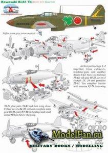 Paper Models - Kawasaki Ki-61 Tei