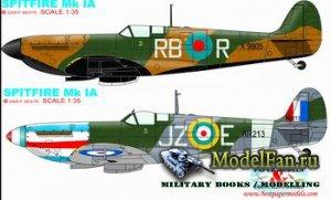 Paper Models - Spitfire Mk.IA (2 variants)