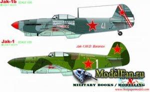 Paper Models - Jak-1 & Jak-1b