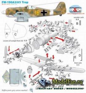 Paper Models - Fw-190A3/U3 Trop