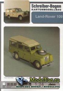 Schreiber-Bogen Kartonmodellbau - Land-Rover 109