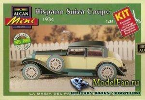 Alcan - Hispano Suiza Coupe (1934)