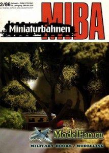 MIBA (Miniaturbahnen) 2/1986