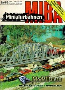 MIBA (Miniaturbahnen) 3a/1986