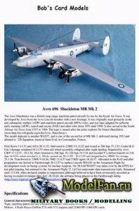 Bob's Card Models - Avro 696 Shackleton MR Mk 2