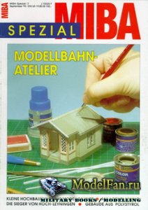 MIBA Spezial 17 - Modellbahn Atelier