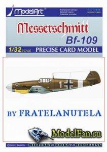 ModelArt - Messerschmitt Bf.109 F-2 (fan mod by Fratelanutela)