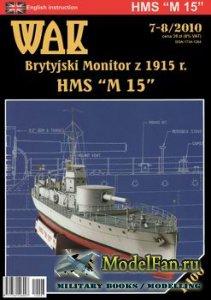 WAK 7-8/2010 - HMS M-15