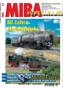 MIBA Spezial 65 - 80 Jahre Einheitsloks