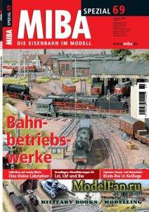 MIBA Spezial 69 - Bahnbetriebswerke