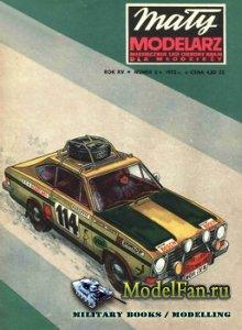 Maly Modelarz №2 (1972) - Opel Kadett Coupe Rallye LS
