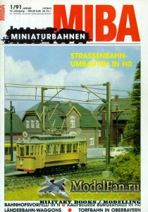 MIBA (Miniaturbahnen) 1/1991