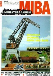 MIBA (Miniaturbahnen) 8/1991