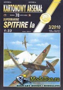 Halinski - Kartonowy Arsenal 3/2010 - Spitfire Ia