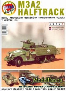 Mega Graphic - M3A2 Halftrack