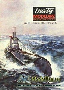 Maly Modelarz №4 (1973) - Okret podwodny ORP