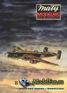 Maly Modelarz №7-8 (1973) - Samolot bombowy Halifax B Mk.III