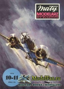 Maly Modelarz №10-11 (1974) - Samolot bombowy PZL-37
