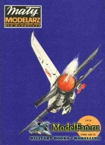 Maly Modelarz №8 (1975) - Samolot mysliwski typu MiG-21