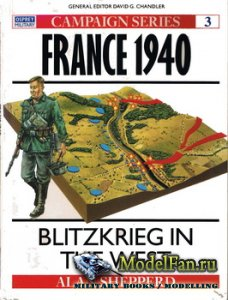 Osprey - Campaign 3 - France 1940: Blitzkrieg in the West
