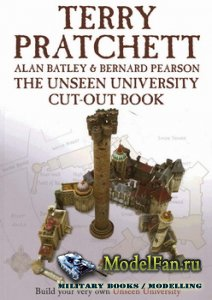 Terry Pratchett - The Unseen University Cut-Out Book (Незримый Университет)