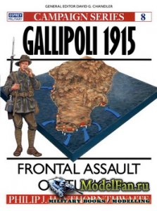 Osprey - Campaign 8 - Gallipoli 1915. Frontal Assault on Turkey