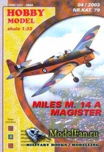 Hobby Model №79 - Miles M.14A Magister