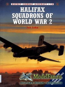 Osprey - Combat Aircraft 14 - Halifax Squadrons of World War 2